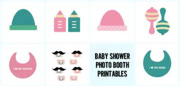 9 best images of printable baby shower props booth props