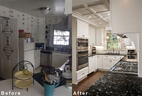 colonial kitchen renovation before after