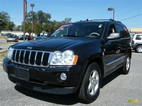 jeep limited black 2005 brilliant black crystal pearl jeep grand cherokee
