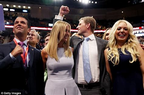 donald trump siblings donald trump s son eric insists he wrote his own speech