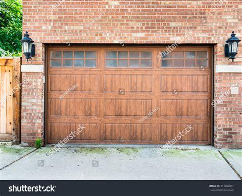 High End Garage Door On A Brick House Of A Upscale High End Garage Doors