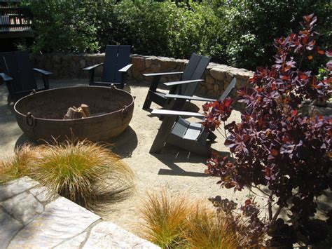 Fire Resistant Rugs For Fireplaces Kentfield Ca Low Maintenance Garden With Fire Pit Lawn