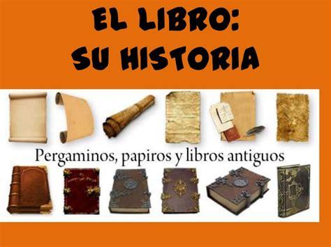 libro origen evolucion del libro