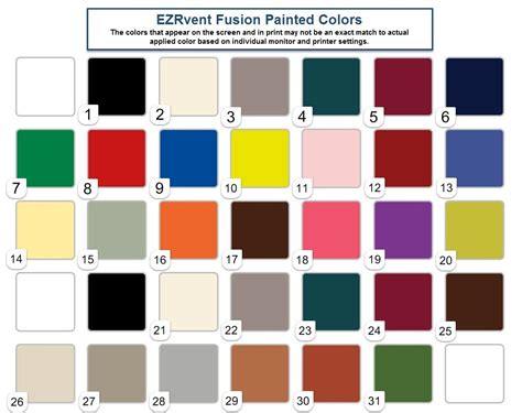 krylon color chart krylon fusion spray paint color chart