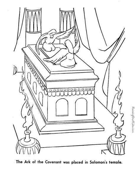 the ark of the covenant coloring page to print this could