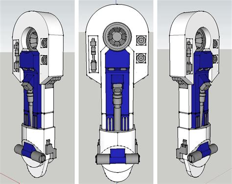 r2d2 leg template a leg to stand on