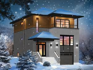 Modern Two Story House Plans Middle Class Modern Two Story House » Home Design 2017