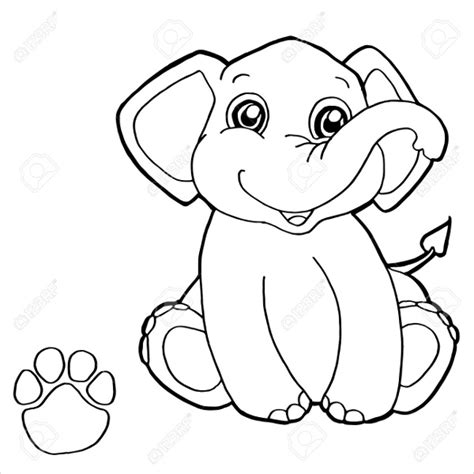 9 elephant coloring pages free sle exle format