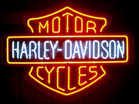 harley davidson neon light harley davidson bar and shield neon sign light harley