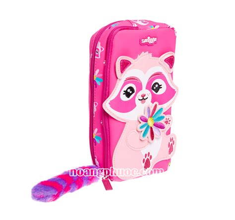 Smiggle Pencil Pink pencil pouch smiggle character pocket pink