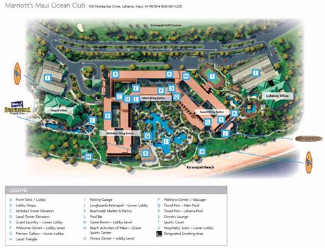 club resort map which tower timeshare users