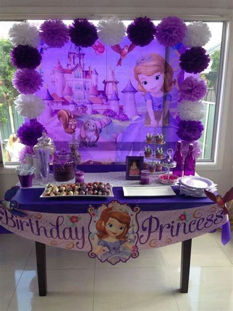 Princess Sofia Decorations by Best 25 Princess Sofia Ideas On