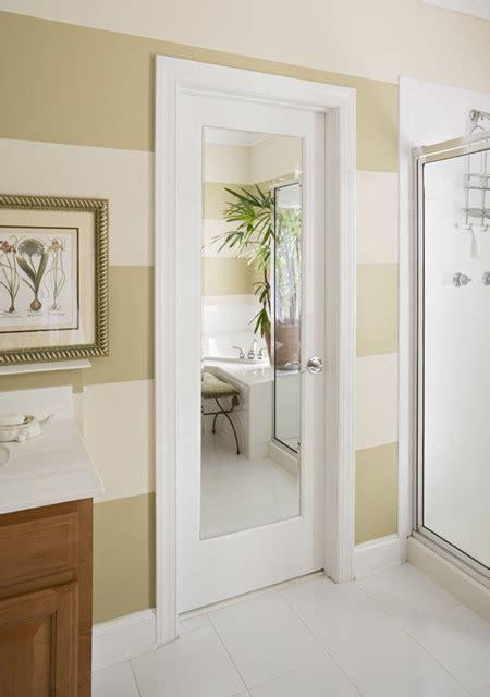 Bathroom Door Mirror | mirror door modern bathroom sacramento by