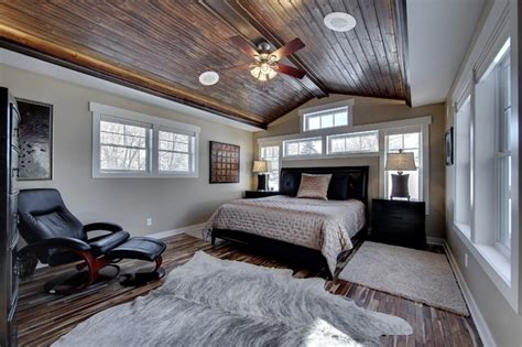 Furniture Liquidator by Master Bedroom With Vaulted Wood Ceiling Traditional
