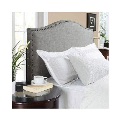 buy padded headboard how to buy online modern arch upholstered padded gray