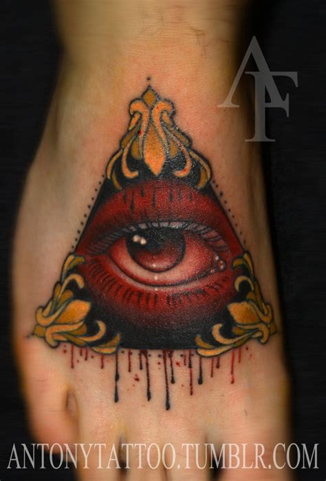 all seeing eye tattoos the wonders of the all seeing eye tattoodo