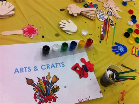 arts and crafts hebrew summer c open house bay y hebrew