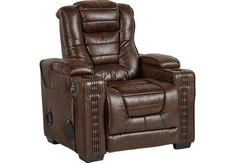 rooms to go recliner chairs eric church highway to home chief brown power recliner recliners brown