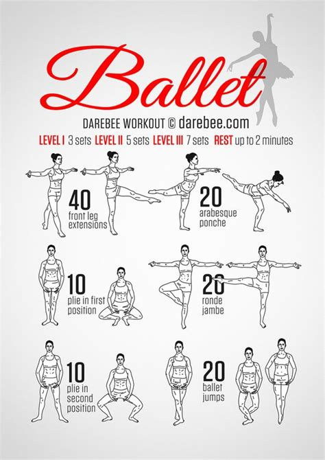 ballet workout i think i will try this out today exercise bar workout