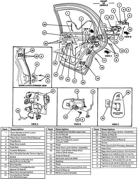 service manual diagrams to remove 1993 lincoln mark viii driver door panel 1993 lincoln mark service manual 1992 lincoln continental driver door latch repair diagram 1993 lincoln mark