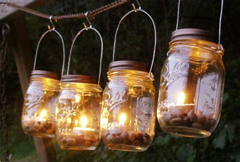 16 decorative handmade outdoor lighting designs style