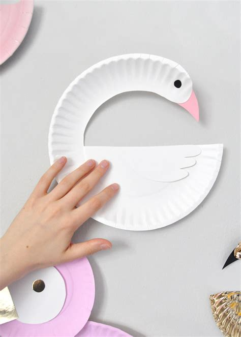 Handmade Paper Plates - diy swan paper plate craft 28 images images of paper
