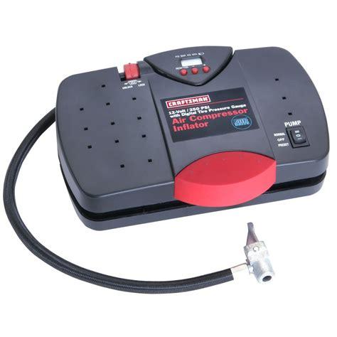craftsman  portable inflator  digital tire pressure gauge shop    shopping