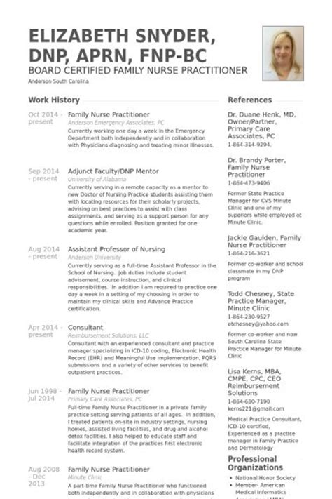family practitioner resume exle resumes