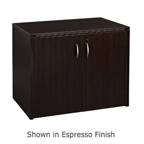 Espresso Storage Cabinet 2 Door Storage Cabinet 36x22 Espresso