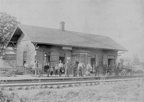 Home Depot Lancaster Ohio by Railroad Station Sabina Ohio Ca 1900