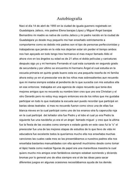 14 la autobiografa autobiografia de ricardo barajas