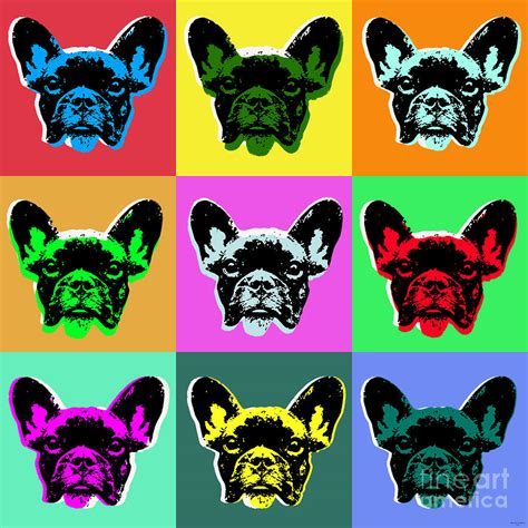Duvet In French French Bulldog Digital Art By Jean Luc Comperat