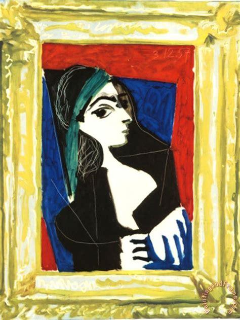 picasso paintings to print pablo picasso portrait de jaccqueline painting portrait
