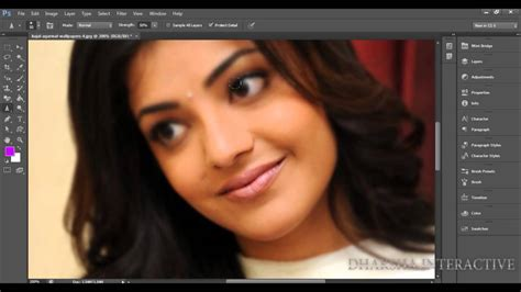 tutorial smudge tool cs6 019 how to use the blur sharpen smudge tool in photoshop