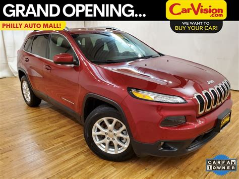 pre owned  jeep cherokee latitude auto wd backup