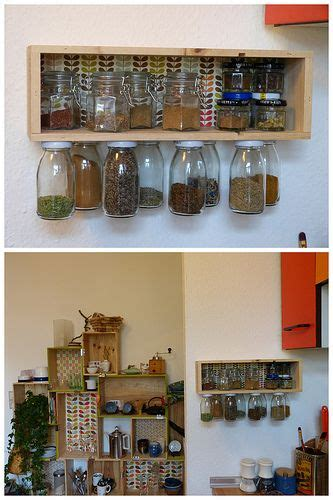 diy crate spice rack weinkistengew 252 rzregal deluxe upcycling crates and bottle
