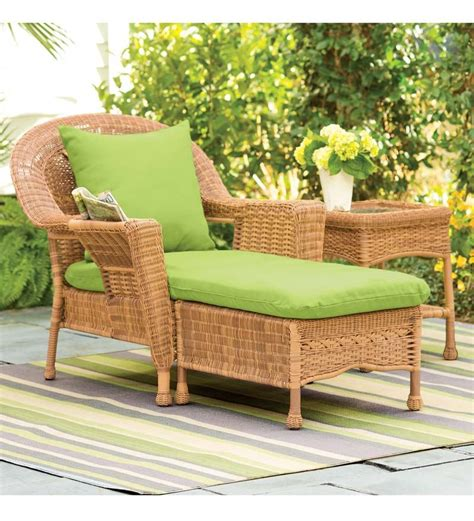 Wicker Lounge Chair Design Ideas Protect Resin Wicker Lounge Chair The Homy Design