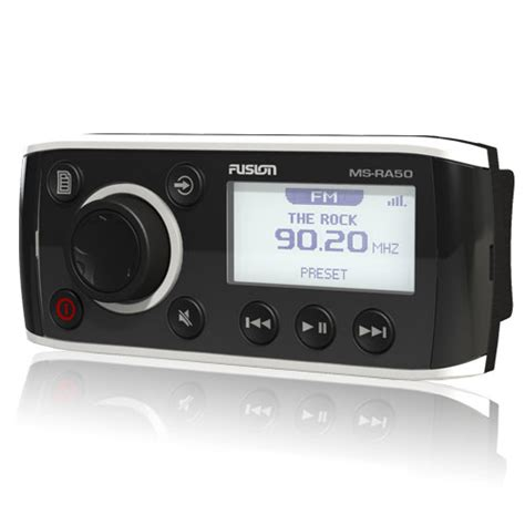 fusion boat stereo review stereo systems fusion ra50 marine stereo am fm radio