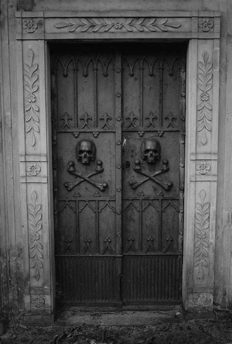 scary front door creepy door