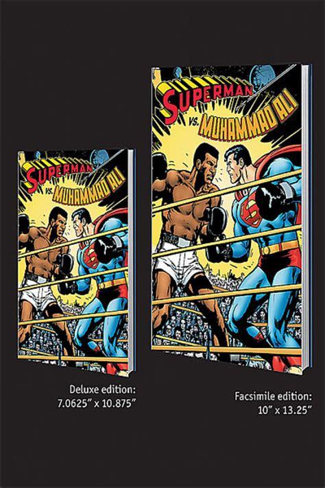 Moh Ali Vs Superman T Shirt superman vs muhammad ali facsimile edition hc