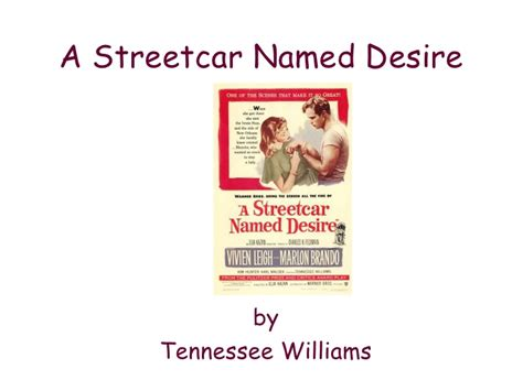 streetcar named desire themes a streetcar named desire intro