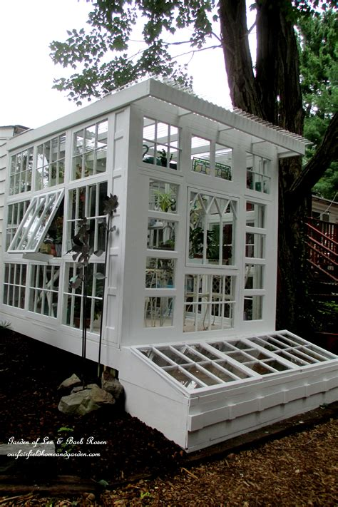 window green house building a repurposed windows greenhouse our fairfield home garden