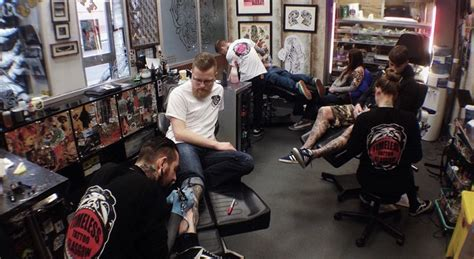 tattoo parlor glasgow busy day today in the shop come in and book in timeless
