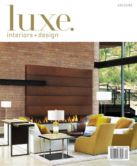 Arizona Home Design Magazines by Luxe Interior Design Arizona By Sandow Media Issuu