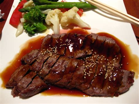 Daging Sapi Teriyaki Japanese Beef Teriyaki Slice beef teriyaki recipe dishmaps
