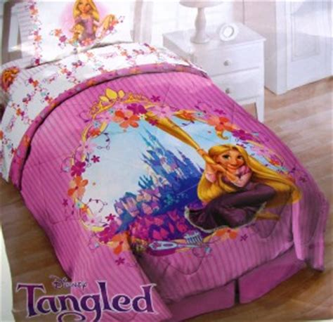 tangled bedding 7pcs disney tangled princess rapunzel twin bed set comf sheets room decor bonus ebay