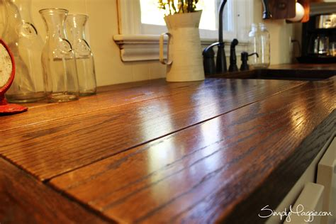 How Wide Is A Bar Top by Diy Wide Plank Butcher Block Counter Tops Simplymaggie
