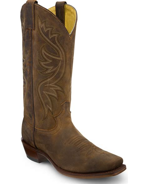 mens justin cowboy boots justin s apache cowboy boots square toe country