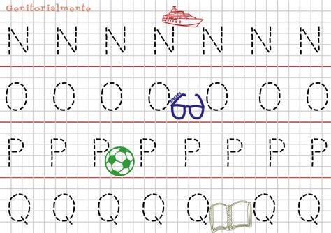 lettere alfabeto da ricalcare pregrafismo prescrittura imparare alfabeto genitorialmente