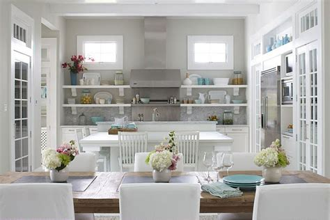 Kitchen White Cabinets Gray Walls Gray Walls Contemporary Kitchen Sherwin Williams Conservative Gray Molly Frey Design